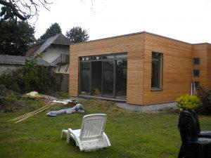 Extension ossature en bois Atelier bois constructionVerneuil sur Avre